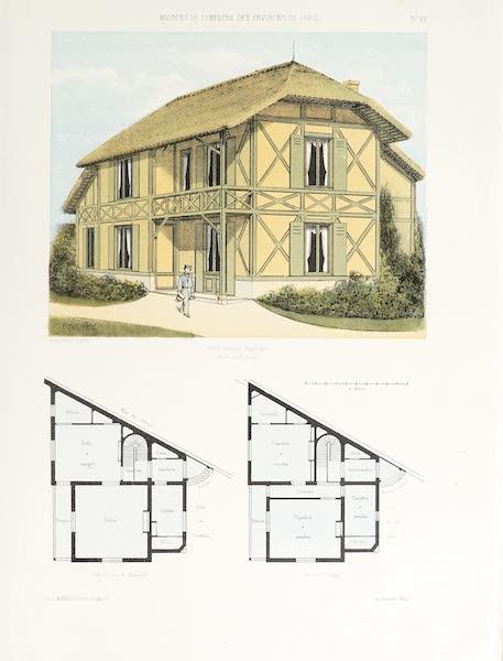 Maisons de Campagne des Environs de Paris - Petite maison rustique (1850)