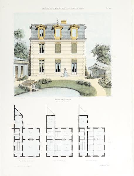 Maisons de Campagne des Environs de Paris - Maison de plaisance (1850)