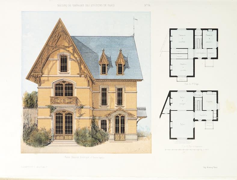Maisons de Campagne des Environs de Paris - Petite maison (genre anglais) (1850)