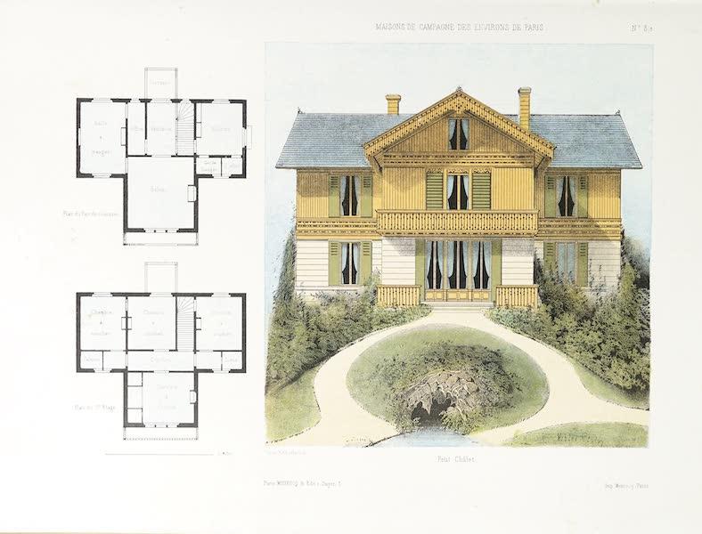 Maisons de Campagne des Environs de Paris - Petit chalet (1850)