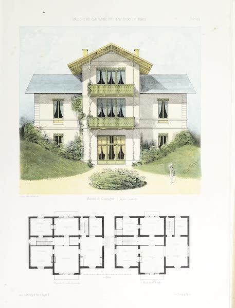 Maisons de Campagne des Environs de Paris - Maison de campagne (genre suisse) (1850)