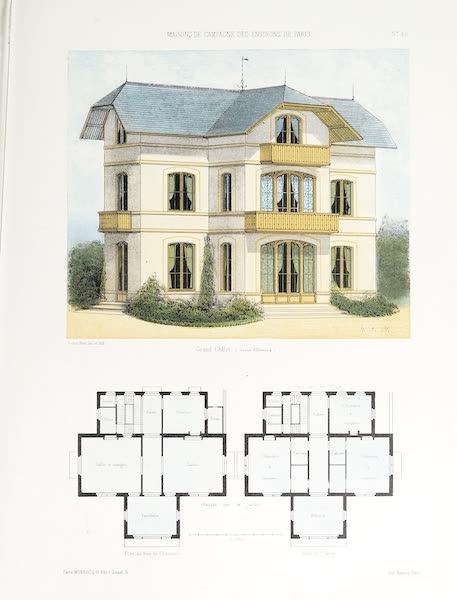 Maisons de Campagne des Environs de Paris - Grand chalet allemand (1850)