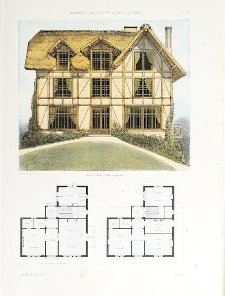 Maisons de Campagne des Environs de Paris - Grand chalet (1850)