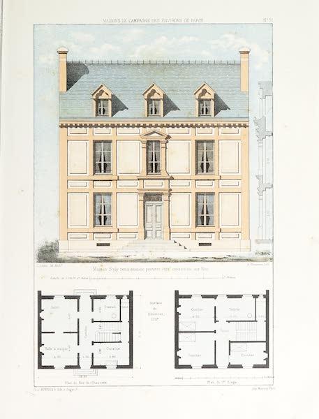 Maisons de Campagne des Environs de Paris - Maison (style Renaissance) (1850)
