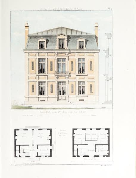 Maisons de Campagne des Environs de Paris - Maison (style Louis XIV) (1850)