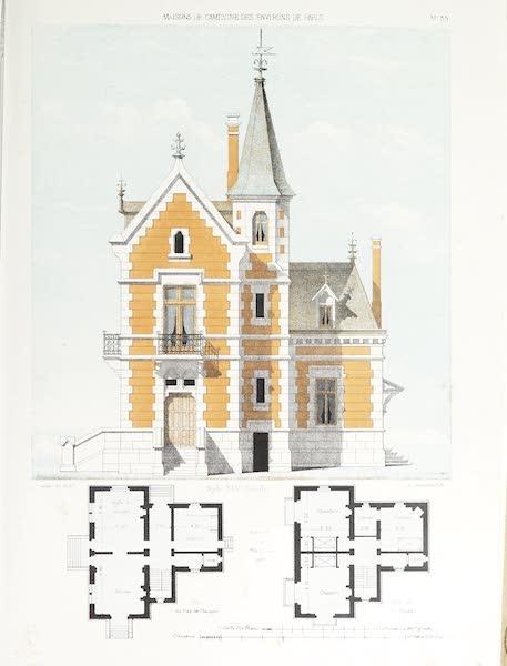 Maisons de Campagne des Environs de Paris - Maison de campagne (style XIVe siècle) (1850)