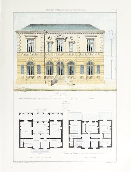 Maisons de Campagne des Environs de Paris - Maison (style italien) (1850)