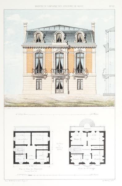 Maisons de Campagne des Environs de Paris - Maison (style Louis XVI) (1850)