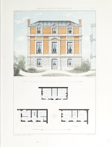 Maisons de Campagne des Environs de Paris - Petite maison de campagne (environs de Rouen) (1850)