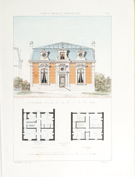Maisons de Campagne des Environs de Paris - Maison de garde (style Louis XIV) (1850)