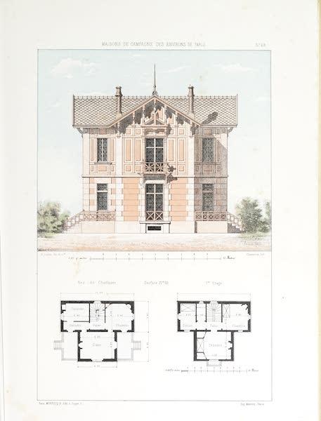 Maisons de Campagne des Environs de Paris - Chalet (1850)
