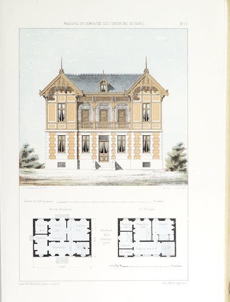 Maisons de Campagne des Environs de Paris - Maison de campagne (genre chalet) (1850)