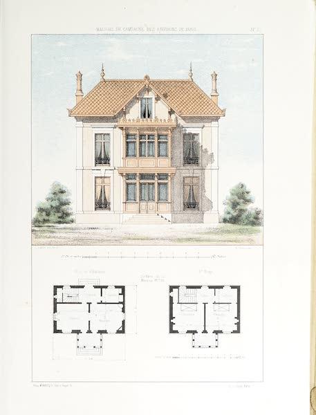 Maisons de Campagne des Environs de Paris - Petite maison de plaisance (1850)