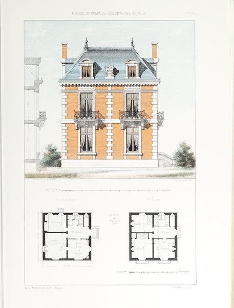 Maisons de Campagne des Environs de Paris - Petite maison de campagne (style Louis XIII) (1850)