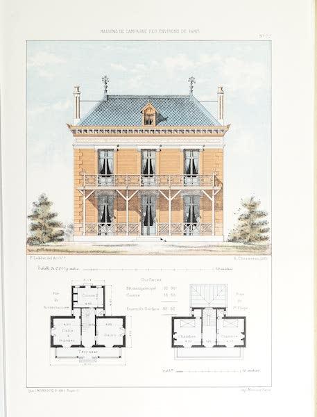 Maisons de Campagne des Environs de Paris - Résidence champêtre (1850)