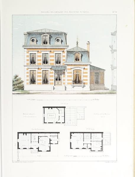 Maisons de Campagne des Environs de Paris - Maison de plaisance, près Paris (1850)