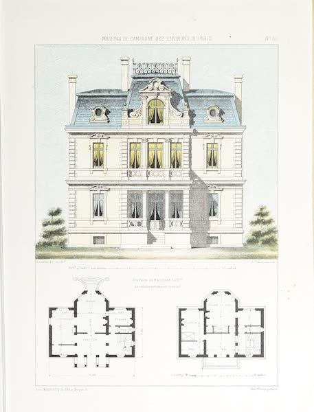 Maisons de Campagne des Environs de Paris - Petit château (genre moderne) (1850)