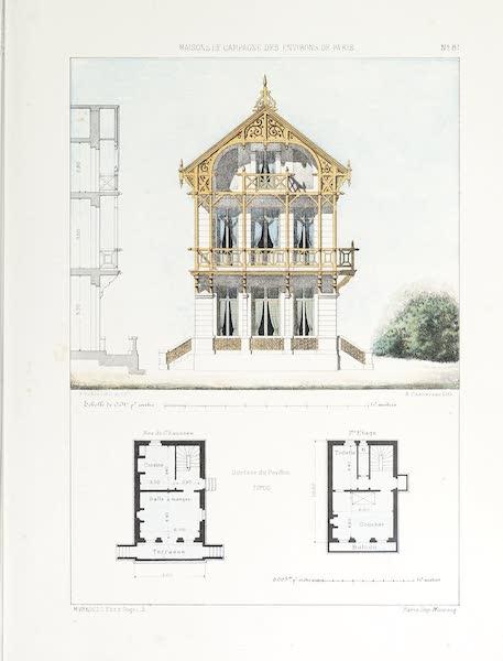 Maisons de Campagne des Environs de Paris - Chalet suisse (1850)