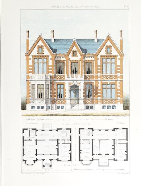Maisons de Campagne des Environs de Paris - Maison de campagne (genre hollandais) (1850)
