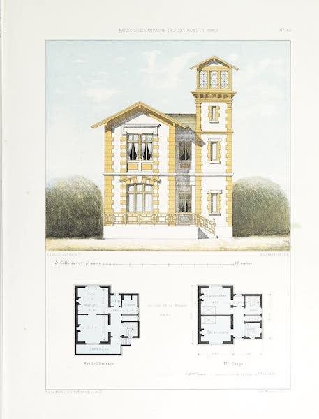 Maisons de Campagne des Environs de Paris - Pavillon avec belvédère (1850)