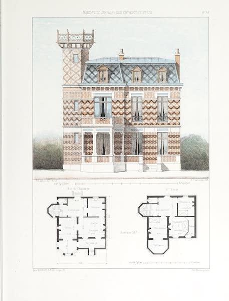 Maisons de Campagne des Environs de Paris - Grande maison de plaisance (1850)