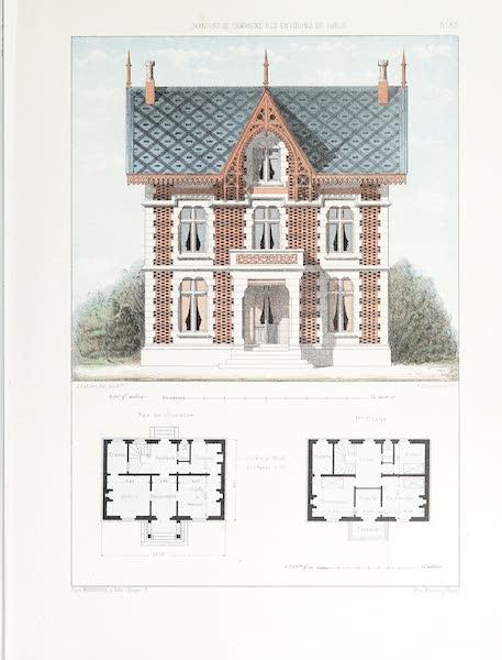 Maisons de Campagne des Environs de Paris - Maison anglaise (genre chalet) (1850)
