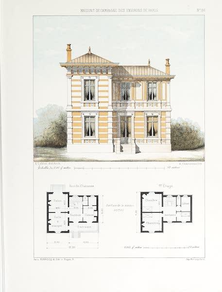 Maisons de Campagne des Environs de Paris - Petit pavillon (genre chalet) (1850)