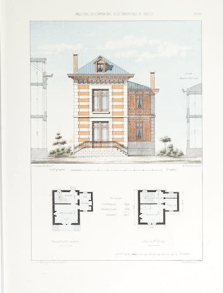 Maisons de Campagne des Environs de Paris - Maison de jardinier (1850)