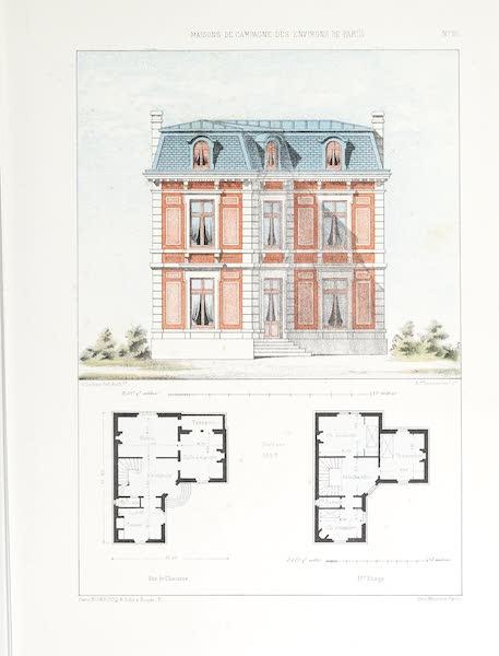 Maisons de Campagne des Environs de Paris - Habitation bourgeoise (près Versailles) (1850)