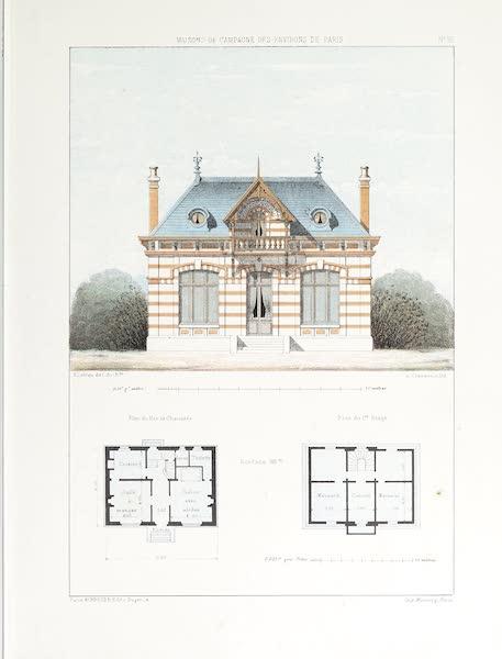 Maisons de Campagne des Environs de Paris - Petite maison de garde (1850)