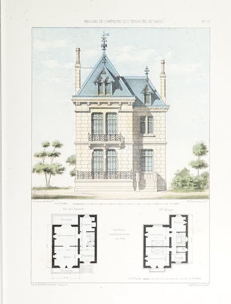 Maisons de Campagne des Environs de Paris - Grand pavillon (1850)