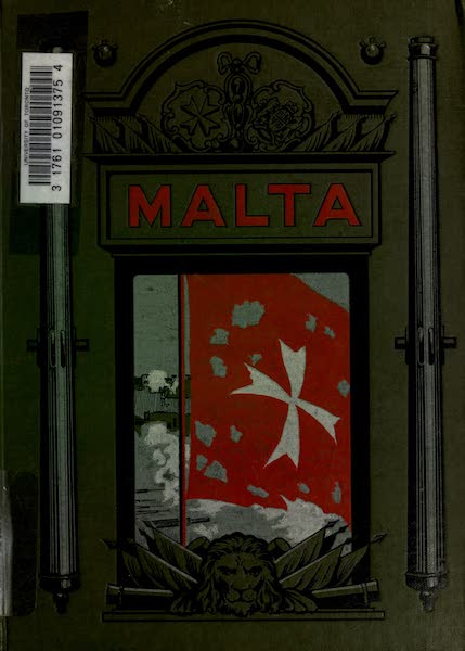 Malta, Painted and Described - Front Cover (1910)