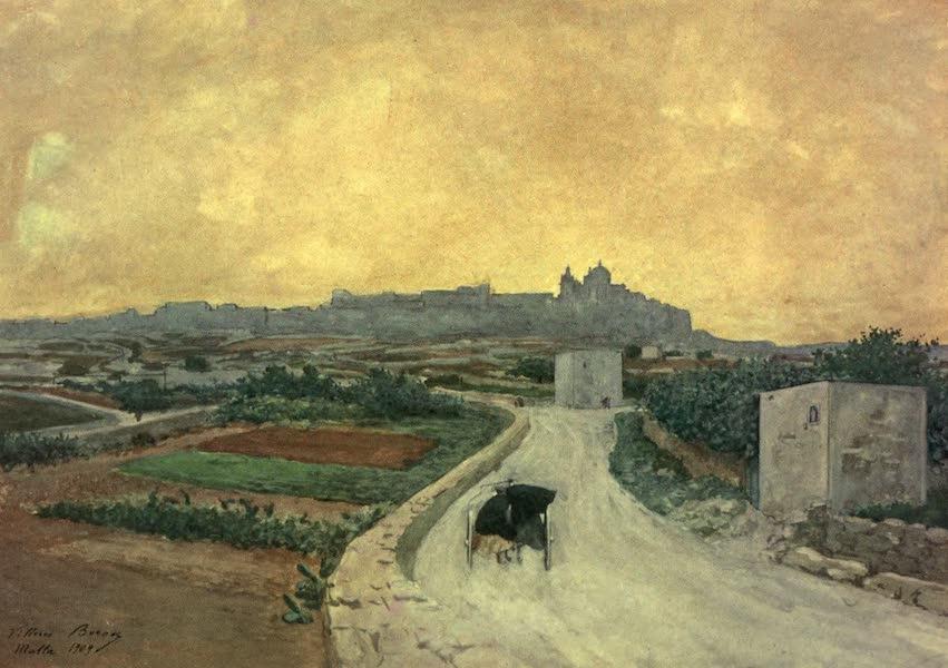 Malta, Painted and Described - Citta Vecchia, Malta (1910)