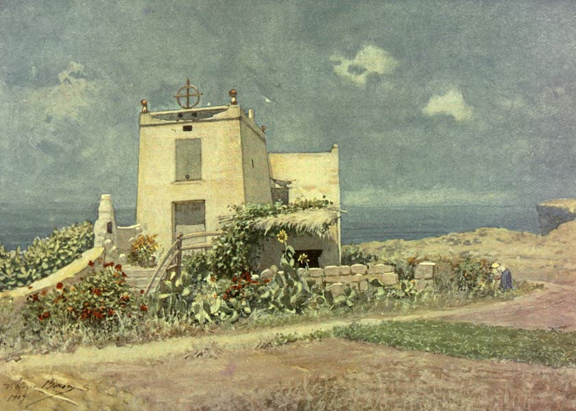 Malta, Painted and Described - A Country House in Gozo (1910)