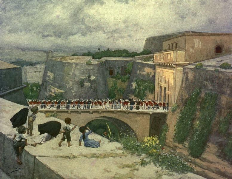 Malta, Painted and Described - Porta Reale, Valletta (1910)