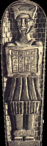 Percy Fawcett's Basalt Idol