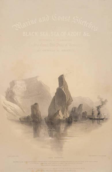 Marine and Coast Sketches of the Black Sea, Sea of Azoff &c. - Title Page - Marine and Coast Sketches of the Black Sea, Sea of Azoff &c. (1856) (1856)