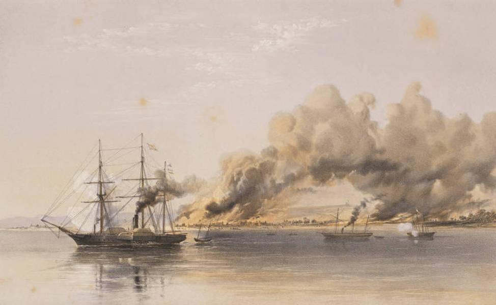 Marine and Coast Sketches of the Black Sea, Sea of Azoff &c. - H.M.S. Vesuvius (1856)