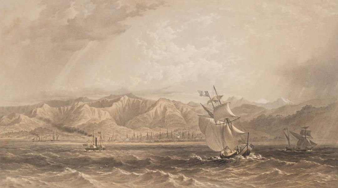 Marine and Coast Sketches of the Black Sea, Sea of Azoff &c. - Batoum (1856)