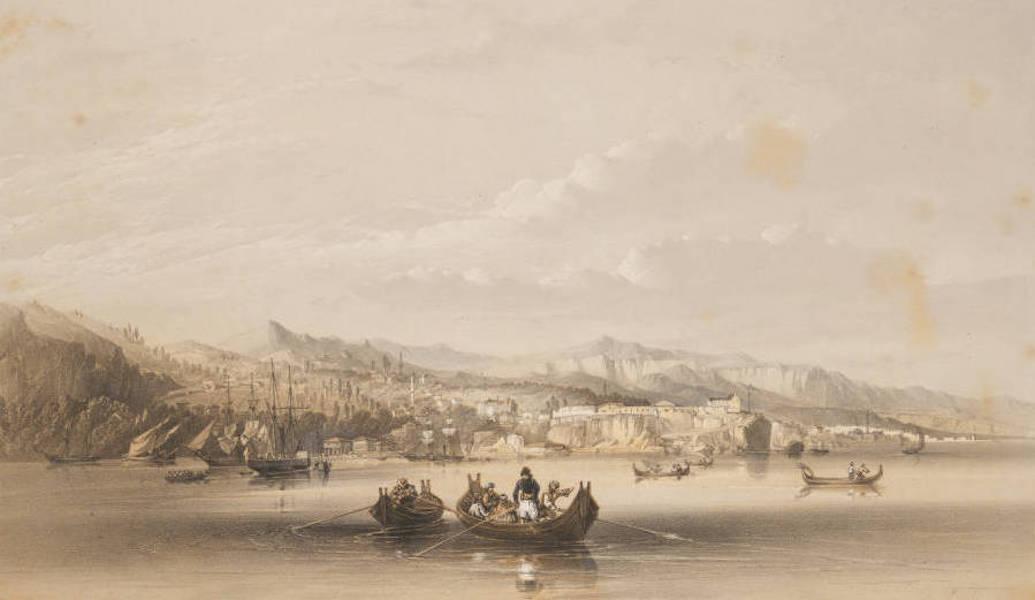 Marine and Coast Sketches of the Black Sea, Sea of Azoff &c. - Trebizond (1856)
