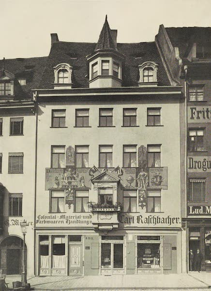 Martin Behaim, His Life and His Globe - The House in Which Martin Behaim was Born (1908)