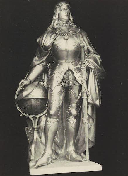Martin Behaim, His Life and His Globe - Behaim's Monument at Nuremberg (1908)