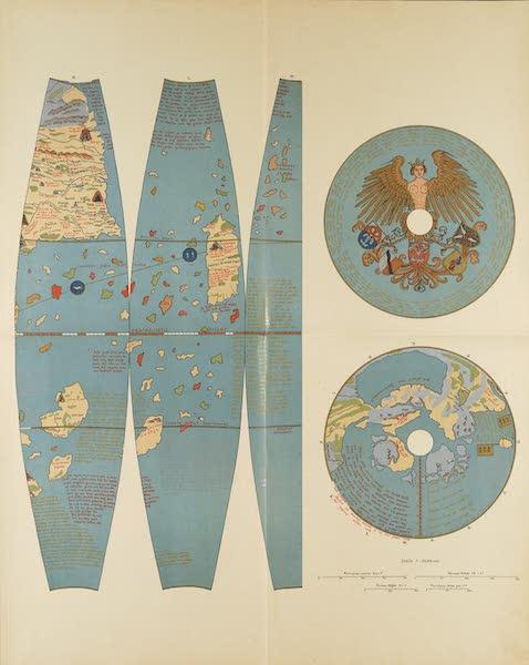 Martin Behaim, His Life and His Globe - Facsimile of Behaim's Globe [IV] (1908)