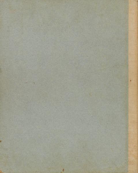Martin Behaim, His Life and His Globe - Back Cover (1908)