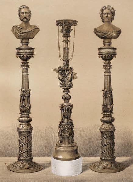 Masterpieces of Industrial Art & Sculpture Vol. 1 - Berlin R. Foundry – Iron Candelabra (1863)