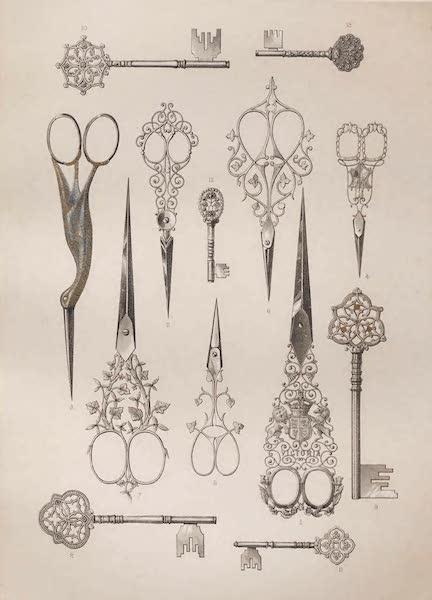 Masterpieces of Industrial Art & Sculpture Vol. 1 - English Scissors and Keys (1863)