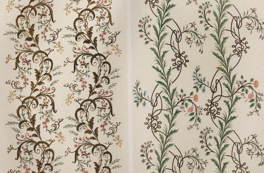 Masterpieces of Industrial Art & Sculpture Vol. 1 - Embroidered Muslin (1863)