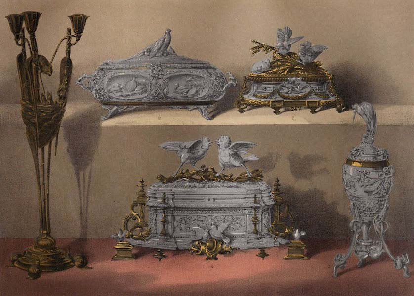 Masterpieces of Industrial Art & Sculpture Vol. 1 - Cain & Moigniez – Metal-work (1863)