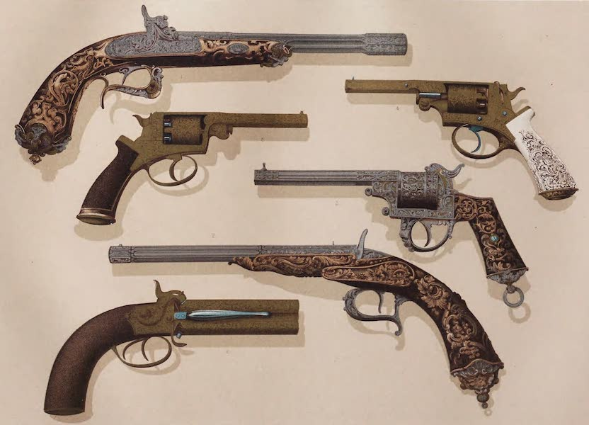 Masterpieces of Industrial Art & Sculpture Vol. 1 - Fire-arms (1863)