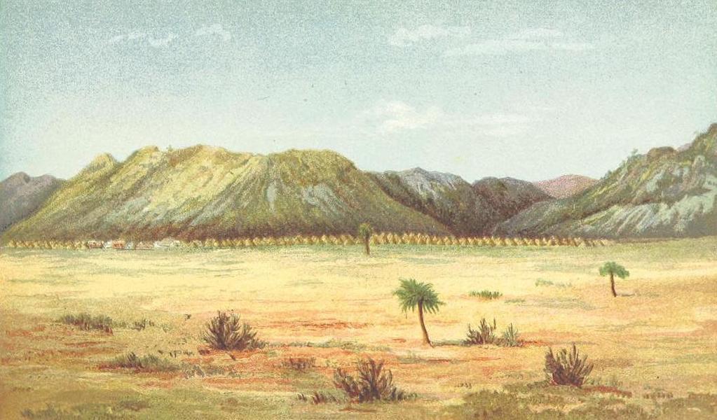 Matabele Land and the Victoria Falls - Shoshong, Bamangwato (1881)